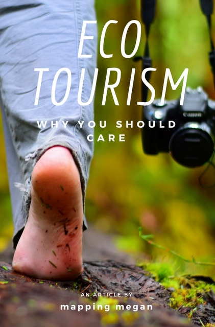 "Unlike being a foodie, a beach-bum, or a wine connoisseur, ""eco-tourism"" is one term which ultimately affects every kind of traveler, and something that, regardless of your interests, every traveler should care about."