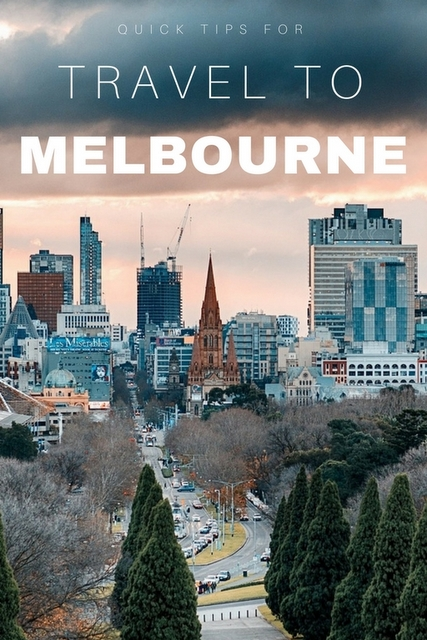 Melbourne has earned a fantastic reputation for being a fun and friendly cosmopolitan city. Here are some quick recommendations of what not to miss.