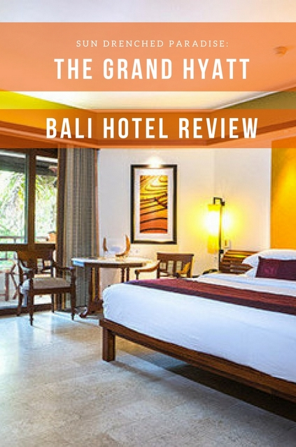 Grand Hyatt Bali is the crown jewel of resorts in Nusa Dua, and more of an intimate beautiful Balinese river village than your typical resort.