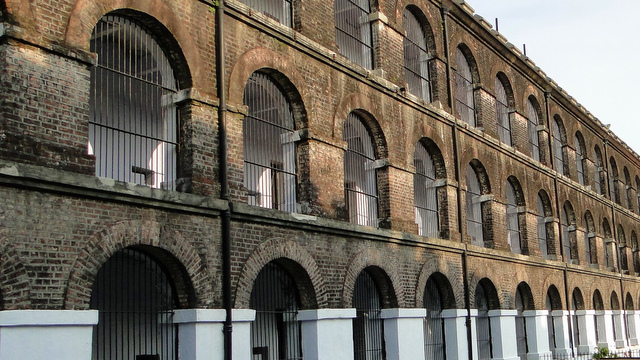 The cellular jail was built by the ruling Brits to deport Indian freedom fighters to an isolated island where they could serve their 'sentence' without causing trouble.