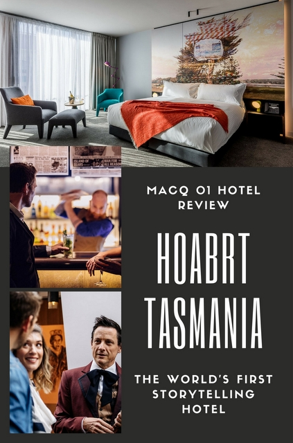 Hobart's hottest new boutique hotel is also the world's first storytelling hotel; MACq 01 is an an immersive storytelling experience in a luxury hotel.