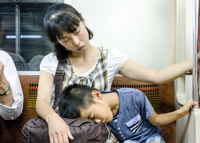 Sleeping Japanese: the Art of Napping