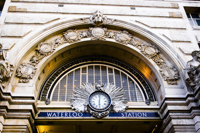 Waterloo is Britain's largest and busiest train station.