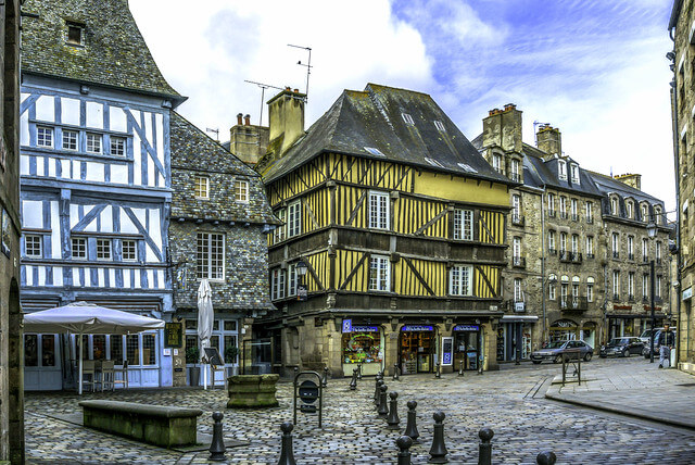 Dinan presents visitors with an unspoiled snapshot of the region's past.