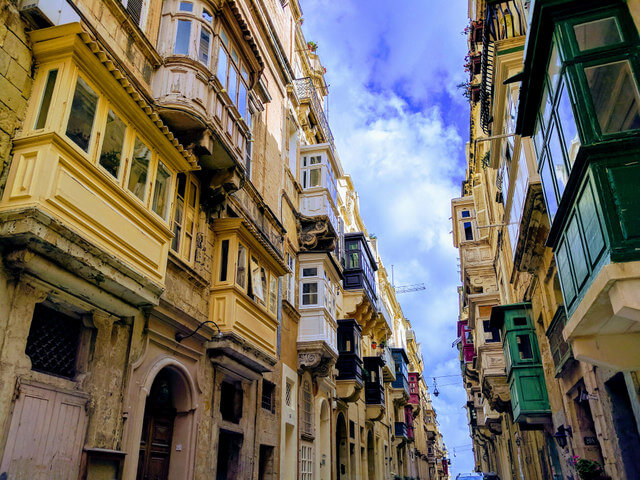 Valletta is Malta's capital city and another site recognized by UNESCO.