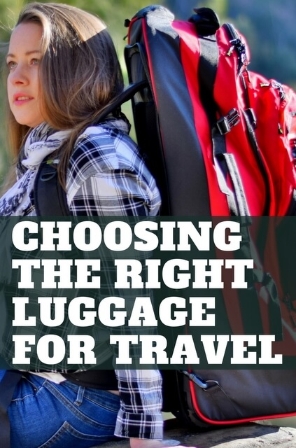 Travel luggage ideas for four different travel styles - from suitcases, to rucksacks and carry-on, different types of luggage suit different types of trips. Click through for more info.
