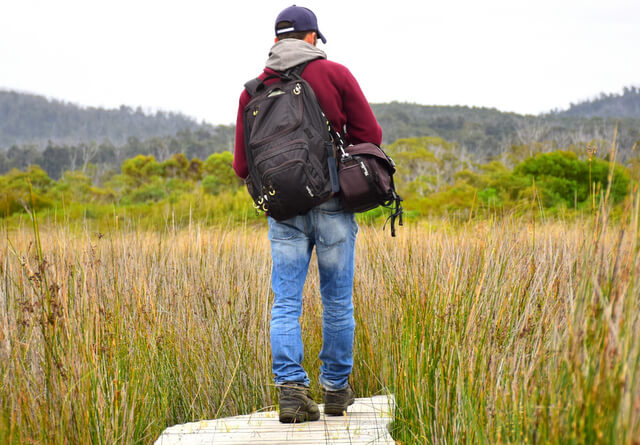 Mike Hiking