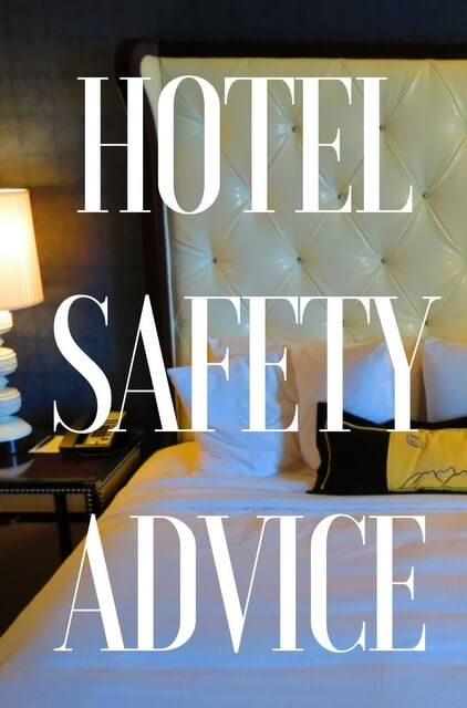 Hotel stays carry an inherent level of risk, so we've put together some of our best hotel safety tips; everything from tips, advice, and hotel safety products.