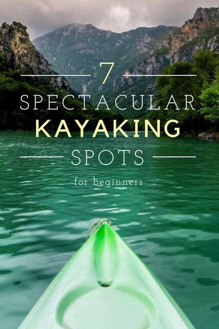 Kayaking for beginners shouldn't be intimidating. If you're looking for kayaking tips, these are the best places to kayak around the world for beginners!
