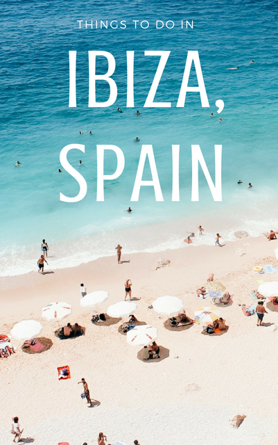 When it comes to Ibiza Spain travel, there are plenty of cool things to do, from the beaches and the islands to the bucketlist experiences. Click through!
