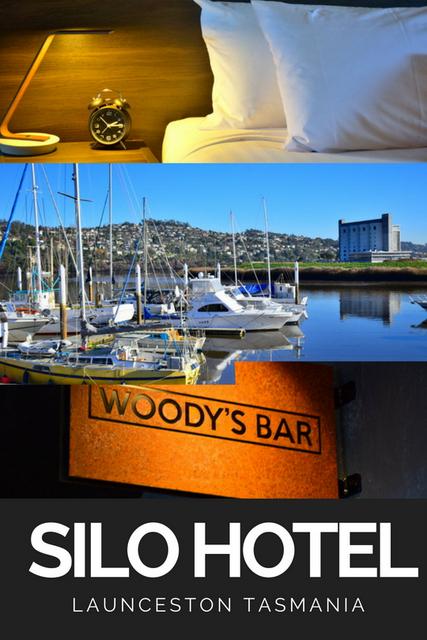 Peppers Silo Hotel has recently opened in Launceston, Tasmania: a luxury hotel in a 1960's grain silo.