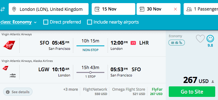 How to find mistake and error fares