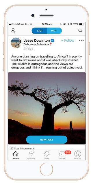Travello App Screenshot