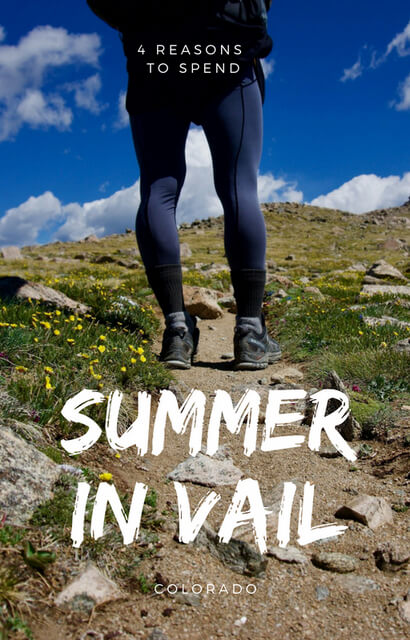 When it comes to spending a Vail Colorado Summer, there's plenty of hiking, photography, beautiful places and things to do ... for reasons to visit, click through!