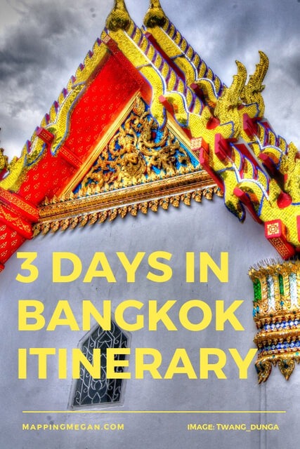 If you're looking for things to do in Bangkok Thailand over 3 days, use this helpful itinerary. Great info on food, shopping, travel, temples (specifically Wat Arun), and generally what to do. #Bangkok #Thailand