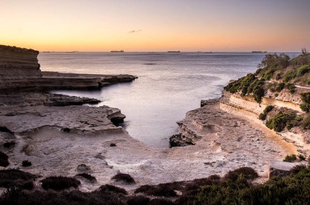 St. Peter's Pool best beaches in Malta