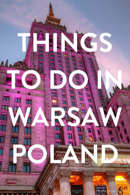 If you're looking for things to do in Warsaw Poland use this travel guide; Old town, history, food, photography and nightlife. A 24 Hour - 48 Hour travel itinerary.
