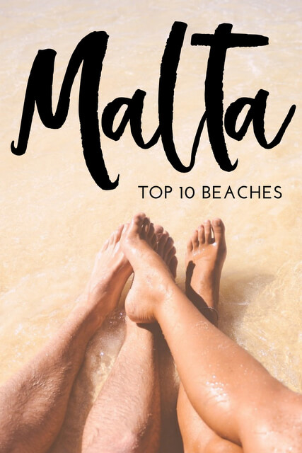 Malta travel this summer? Use this list of the best paradise beaches and most beautiful bays - they're great places to visit for fun in the sand!