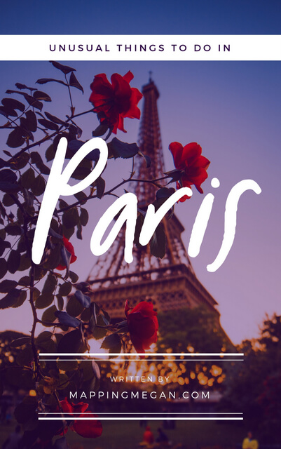 If you're looking for unusual things to do in Paris, whether in summer, in winter, or with kids, check out this list of non tourist, unique must do experiences. #Paris #France