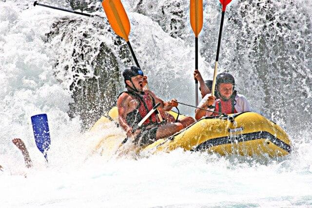 White water rafting RF