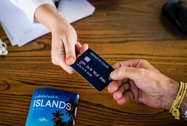 credit card for travel RF