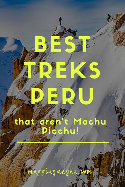 Machu Picchu is incredible but those looking for a hike that's more unique and less restrictive consider some of these other incredible mountain treks in Peru - the best adventure hiking in South America!
