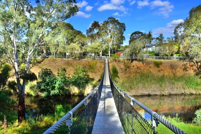 Adelaide Swinging Bridge