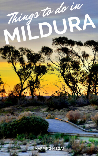 These are the best things to do in Mildura Victoria! Click pin through to post for itinerary and fabulous photos.