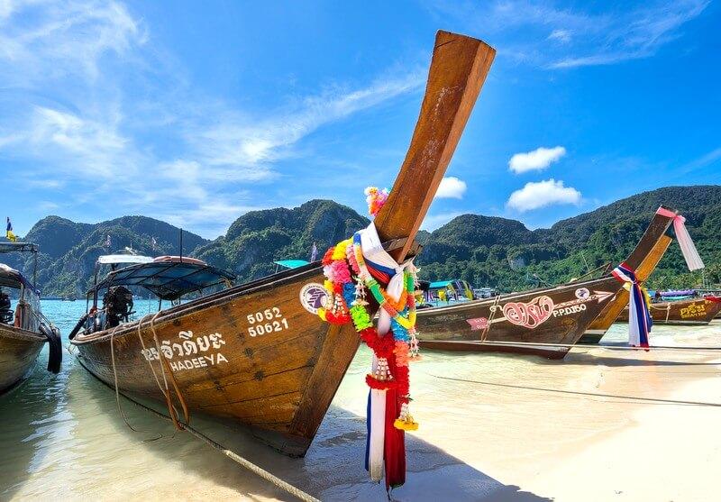 Koh Samui Longtail Boat Thailand RF