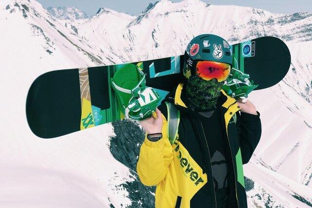 Snowboard ski winter RF
