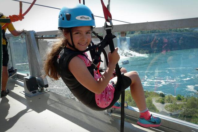 Ziplining Niagara Falls