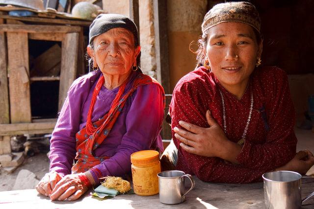 Nepal women locals