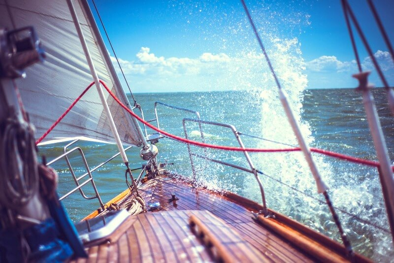 Yacht boat RF