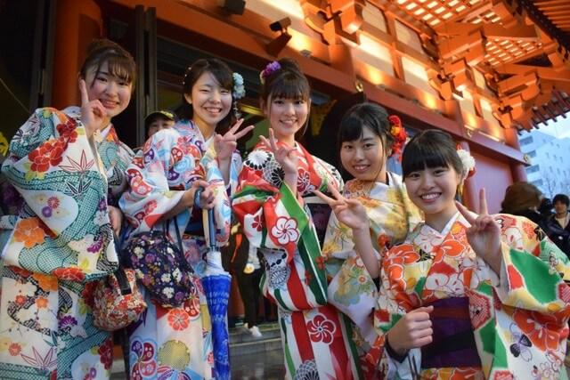 Japanese women RF locals