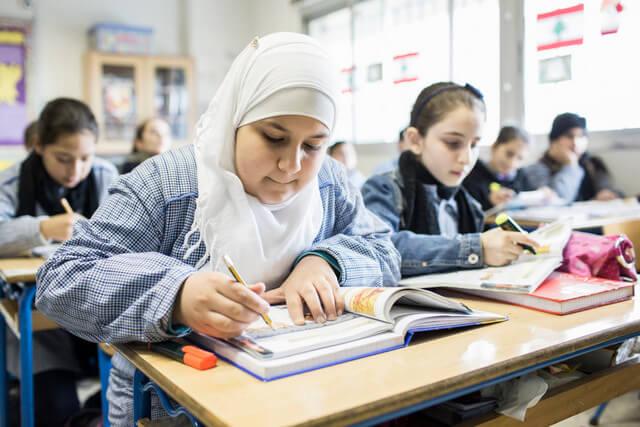 Teaching school students