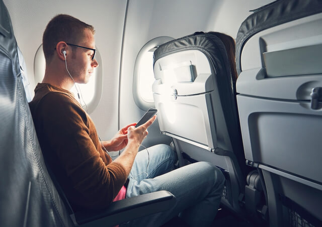 Apps that work with inflight wifi phone plane RF