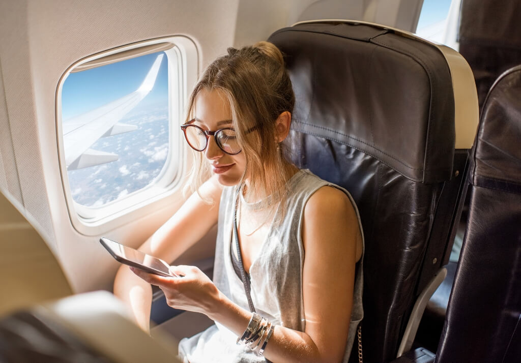 Apps that work with inflight wifi phone plane
