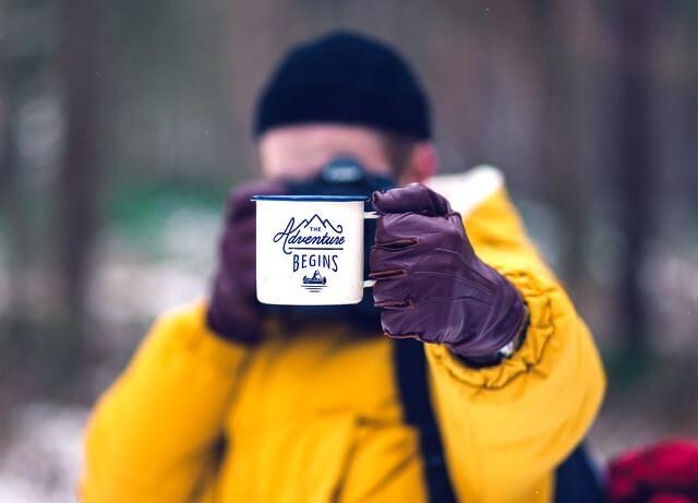 Coffee camping mug RF