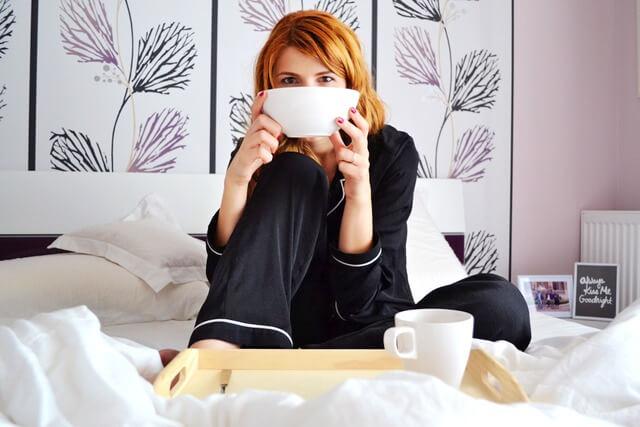 Girl in bed RF