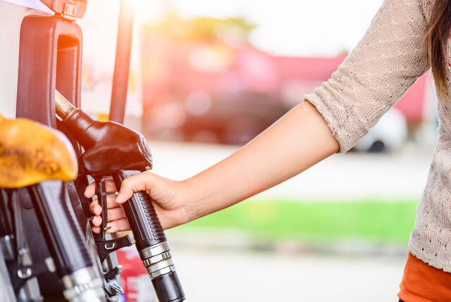 Petrol road trip gas station RF