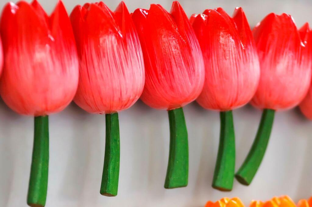 Tulip Fridge Magnet RF