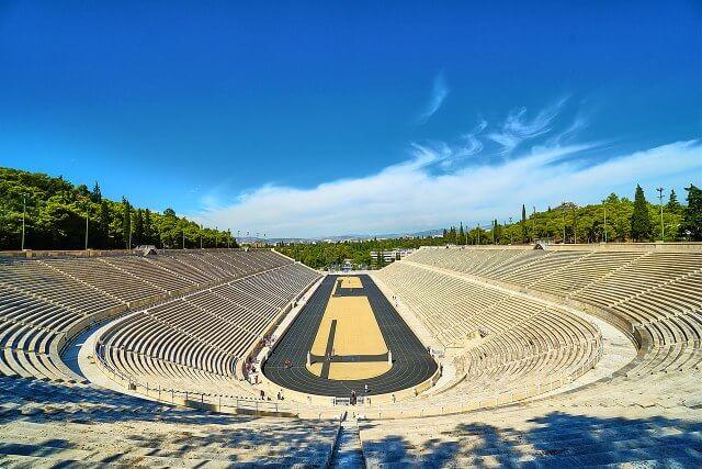 The_Panathenaic_Stadium_of_Athens Greece