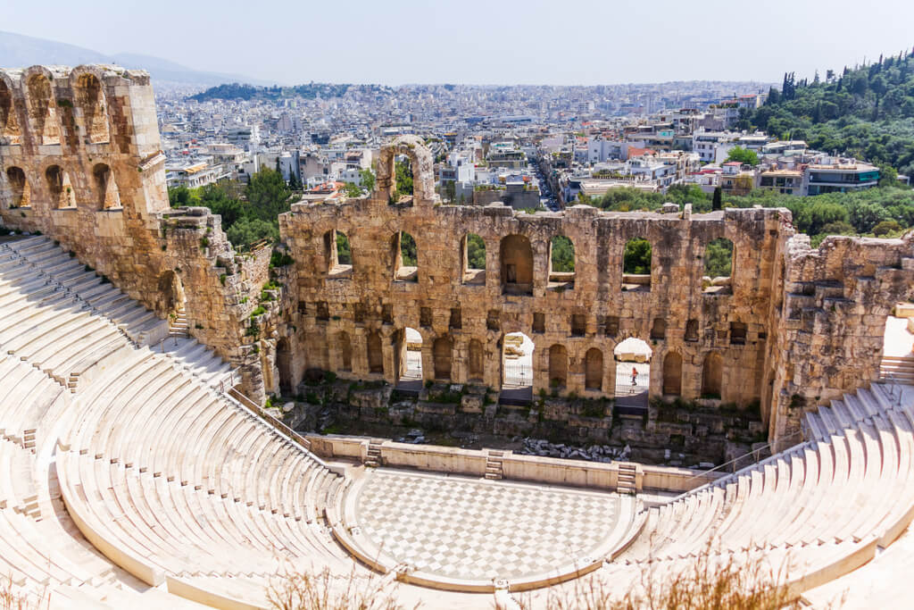 Odeon_of_Herodes_Atticus_2019 Greece Athens