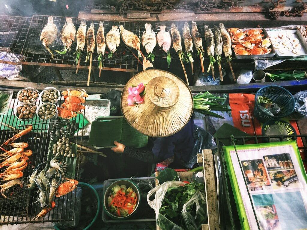 Thai street food RF
