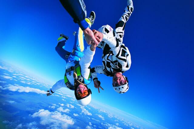 Skydiving RF
