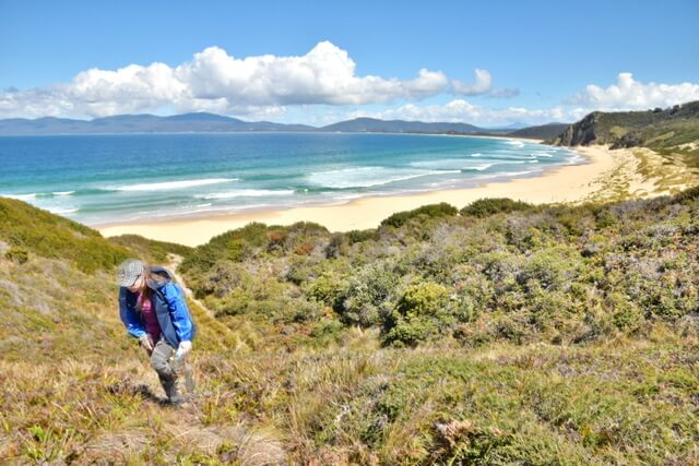 Hiking Bruny Island