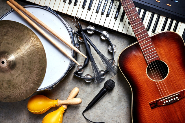 Musical instruments RF