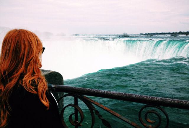 Niagara Falls Female Traveler RF