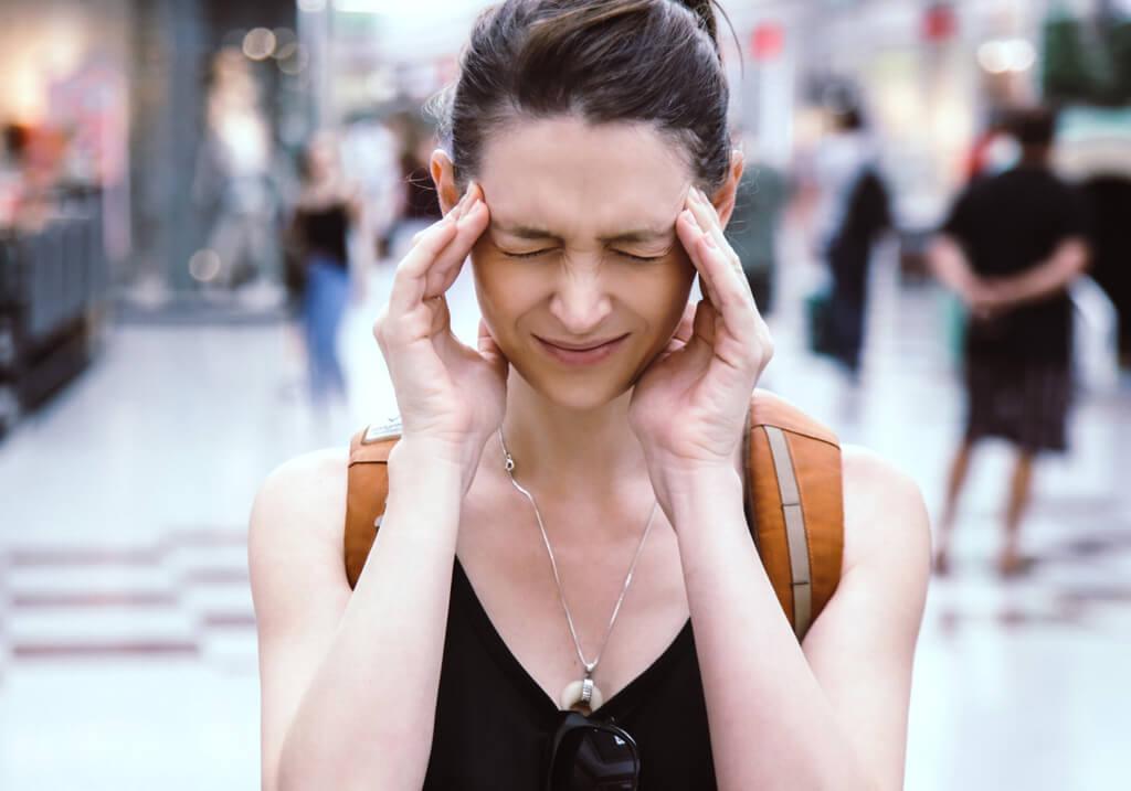 Headache traveler mental health RF