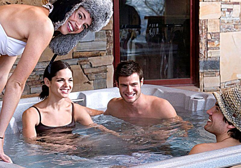 Hot tub spa RF